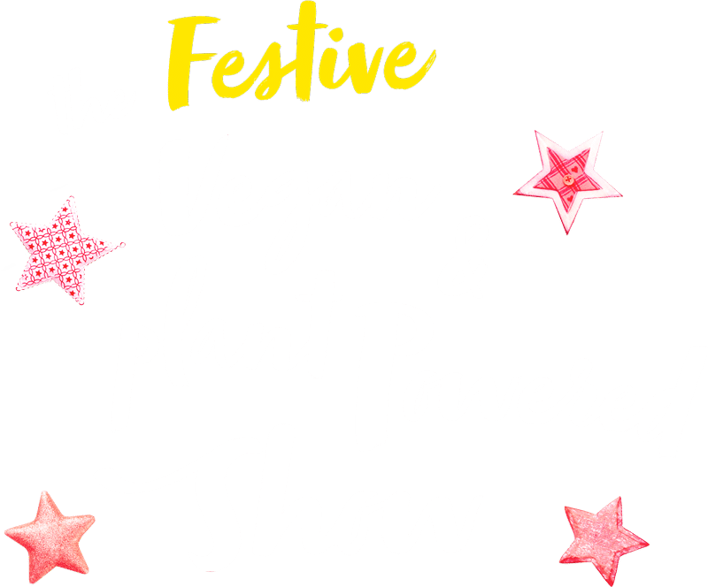 vegan and plant powered show online festive event logo